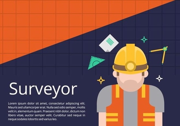 Surveyor Background - vector #412657 gratis