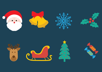 Christmas Vector Pack - Kostenloses vector #413007
