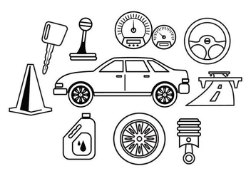 Free Car Maintenance Vector - Free vector #413227