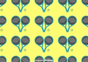 Padel Pattern Vector - бесплатный vector #413237