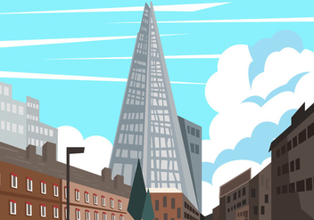 The Shard And The City View - vector gratuit #413567