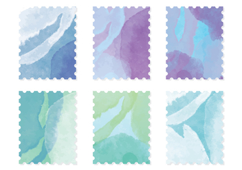 Vector Watercolor Cards - Kostenloses vector #413637