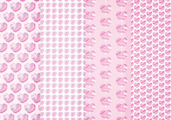 Vector Marble Hearts Patterns - Free vector #413657