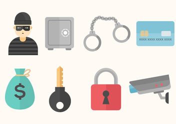 Free Theft Vector Icons - vector gratuit #413767