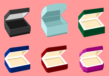 Ring Box Free Vector - vector #414117 gratis