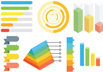 Free Infographic Elements Icons Vector - vector #414237 gratis