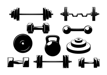 Free Dumbell Vector - Free vector #414287