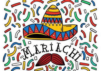 Free Mariachi Background - vector #414447 gratis