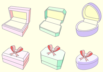 Ring Box Free Vector - vector #414467 gratis