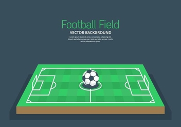 Football Ground Background - vector gratuit #414527
