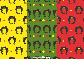 Dreads Pattern Vector - бесплатный vector #414637