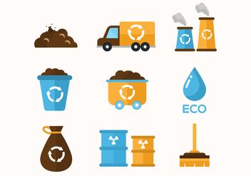 Free Garbage Vector Icons - бесплатный vector #414947