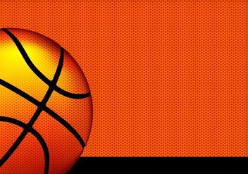 Basketball texture vector background - vector gratuit #415187