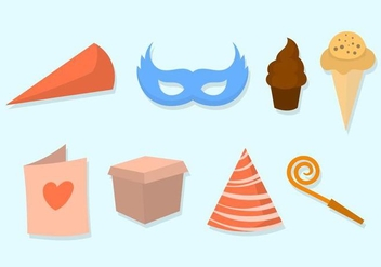 Free Party Vector Icons - vector #415357 gratis