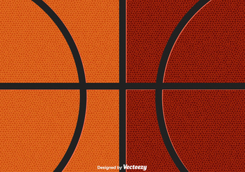 Basketball Texture Pattern - vector gratuit #415437