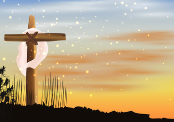 Day Of Holy Week - vector gratuit #415467
