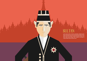 Sultan Background - vector gratuit #415547