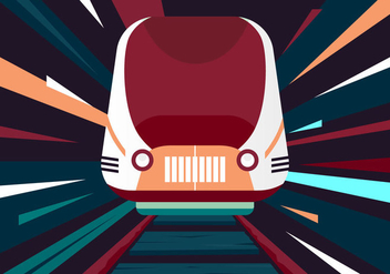 Free TGV Vector Illustration - vector gratuit #415557