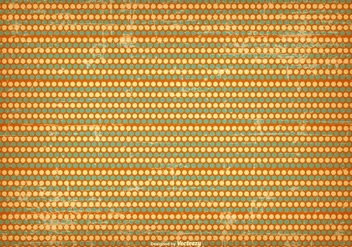 Grunge Polka Dot Background - vector gratuit #415617