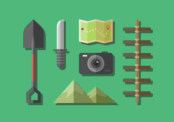 Free Adventure Gear Vector - vector #415707 gratis