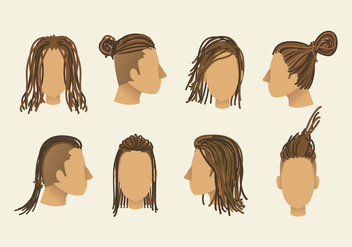 Free Dreads Vector - бесплатный vector #415767