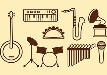 Free Music Vector Icon - бесплатный vector #415807