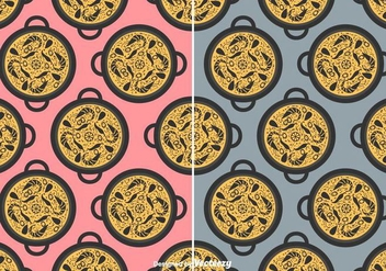 Paella Vector Pattern - бесплатный vector #415887