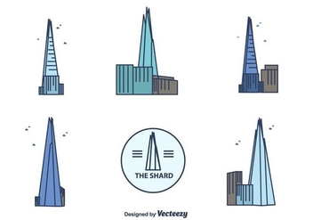 The Shard Vector - vector #415907 gratis