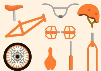 Free Bicycle Vector Collections - бесплатный vector #416007