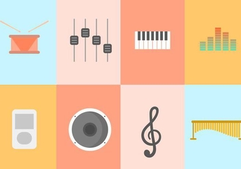 Free Music Vector Collection - vector #416037 gratis