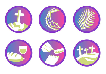 Free Holy Week Vector Illustration - vector gratuit #416097