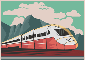 Tgv High Speed Train - vector #416157 gratis