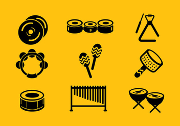 Musical Icon Free Vector - vector gratuit #416287