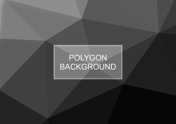 Free Vector Grey Polygon Background - Free vector #416527