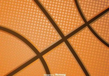 Basketball Vector Texture - бесплатный vector #416877