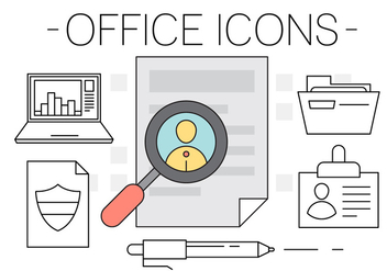 Free Office Icons - Kostenloses vector #417117