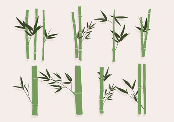 Bamboo Green Vector - бесплатный vector #417477