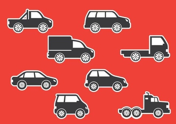 Auto Body Icons - vector #417547 gratis