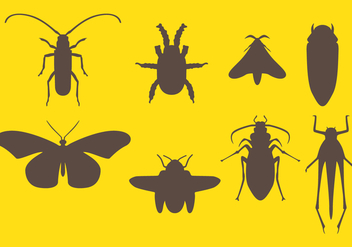 Pest Control Icons - Free vector #417637