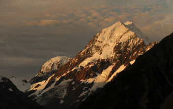 Evening at Mount Cook. NZ - Free image #417757