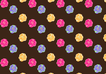Free Camellia Seamless Pattern Vector Illustration - бесплатный vector #417827