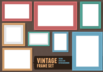 Blank Picture Frame - Kostenloses vector #417967
