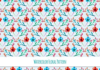 Beautiful Free Vector Floral Pattern - vector #418137 gratis