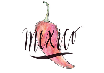 Mexico Country Illustration - vector #418217 gratis