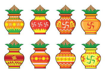 Kalash Icons - Free vector #418267