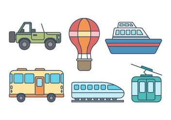 Free Transportation Vector - бесплатный vector #418427