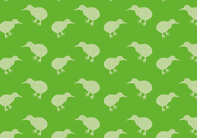 Free Kiwi Bird Seamless Pattern Vector Illustration - vector gratuit #418667