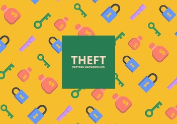 Theft Background - Free vector #418897
