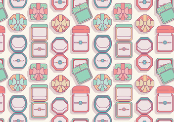 Ring Box Top View Vector - vector #418907 gratis