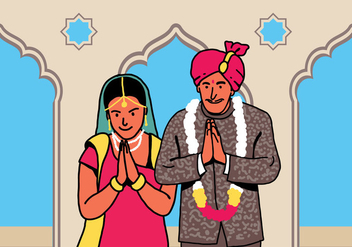 Bollywood Welcome - Kostenloses vector #418917